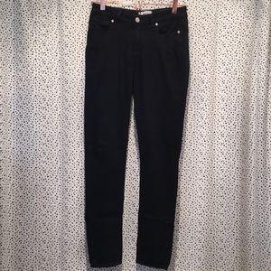 Paige 27 verdugo ultra skinny jeans black